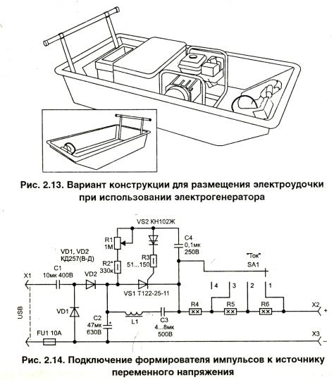 как сделать электроудочку из аккумулятора